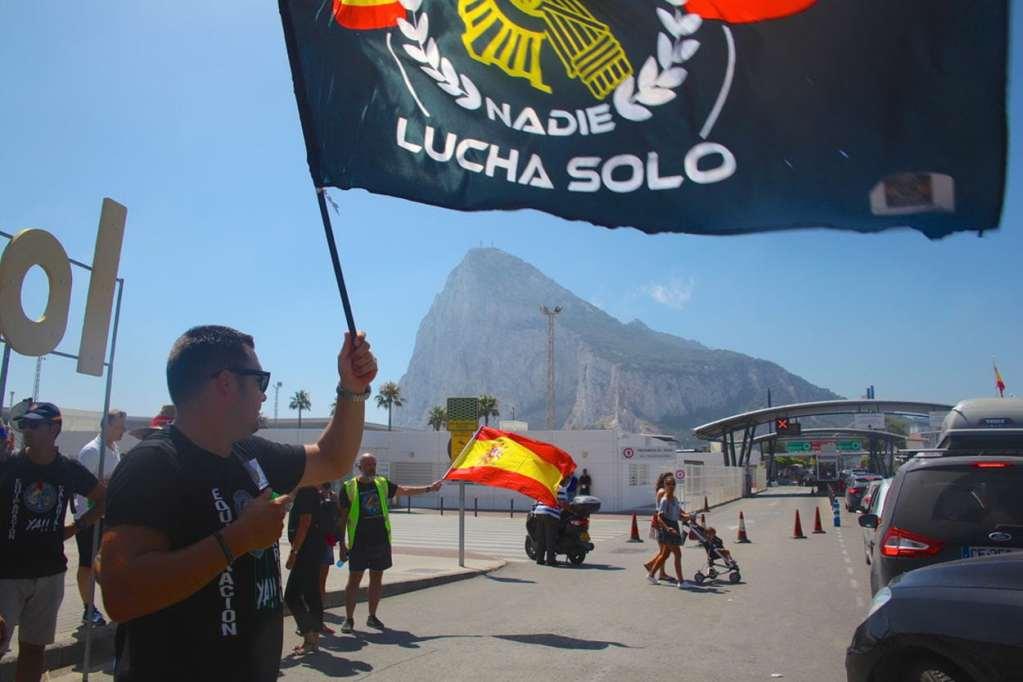 Spanish Police Demo Frontier 15 08 19 Bugi 160062 Image